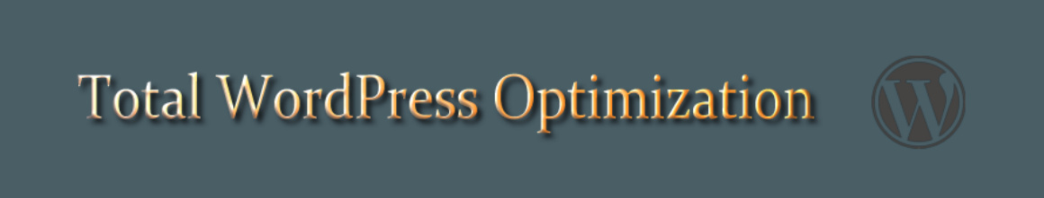TotalWordPressOptimization header image